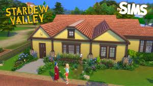 Building Emily & Haley's House (Stop Motion Speedbuild!) // Stardew Valley  Meets The Sims - YouTube