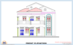 3 bedroom home plan and elevation