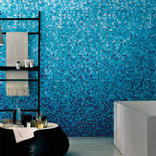 blue bathroom tile ideas: mosaic blue bathroom bathroom idea mosaic tile image mosaic