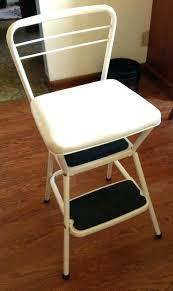 cosco retro chair step stool retro stepping stool retro kitchen chair step stool vintage step stool
