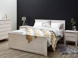 white wash bedroom furniture. Rustic Whitewash Queen Size Bed Frame Modern Timber Bedroom Furniture Melbourne White Wash E