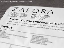 Thank You For Shopping With Zalora Think It Dream It Blog