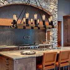 kitchen island lighting ideas pictures. SUN-E 10-Lights Hemp Rope Chandelier Metal Vintage Rustic Country Style  Pendant Lamp Rectangle Island Lights Kitchen Island Lighting Ideas Pictures A