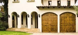 custom wood garage door 7000