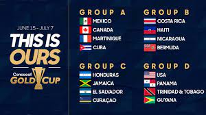 Schedule for 2019 Concacaf Gold Cup ...