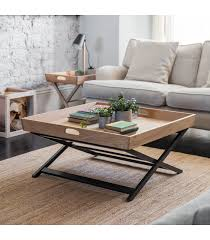 coffee table with fold away legs the