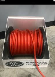 stinger car audio wire rack spool