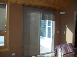 pull down shades external sun shades sepio weather shelters in roller shades on patio door one 12 up to give idea of light