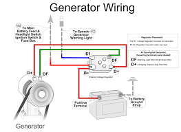 vw alternator vw generator vw starter generator conversion wiring diagram