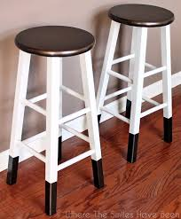 DIY Barstools  Bronze Dipped Bar Stool Easy And Cheap Ideas For  Seating Build Your Own Bar Stools R55