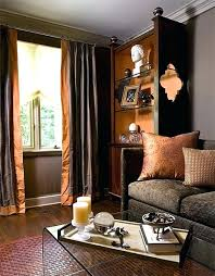 T Rust Colored Couch Amazing And View In Gallery Copper  Decor Accents