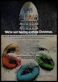 Details About 1973 Leggs Legwear Vintage Photo Print Ad Snow Christmas Decorated Eggs 1970s