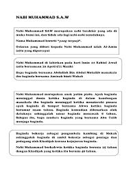 'abdullah bin 'abdul muttalib bin hashim nama ibu: Nama Ibu Dan Bapa Nabi Muhammad