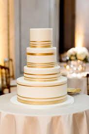 Sparkling Metallic Wedding Cakes Mywedding