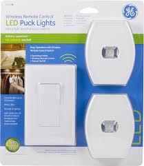 Amazon Com Ge Wireless Remote Control Led Puck Lights White 2