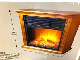 oak finish electric fireplace bay infrared antique hampton instructions fire