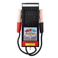6 12V 100Amp El Araba pil test cihazı Yük Damla şarj sistemi Analizörü  Checker Aracı Van Oto Ekipmanları Gerilim Mater|Battery Testers