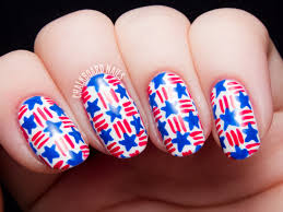 15 Patriotic Nail Art Ideas for the 4th of July | Chalkboard nails ...