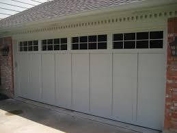 image of white garage door window inserts