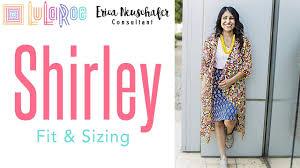 Lularoe Shirley Sizing