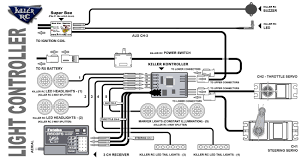 s killer rc light controller diagram killer kontroller v3 3 channel configuration