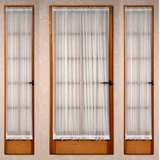 simple curtains for french doors