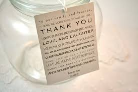 thank you tags for wedding favors wedding thank you tags tirevi fontanacountryinn com