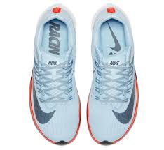 nike new shoes. at 8.5 ounces, the zoom fly is heavier than other new nike shoes while still being a lightweight pair for runners. photograph courtesy of
