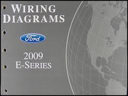 2009 ford econoline van club wagon wiring diagram manual original