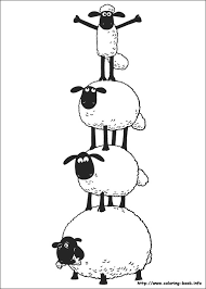 Small Picture Shaun the Sheep coloring picture Pinteres