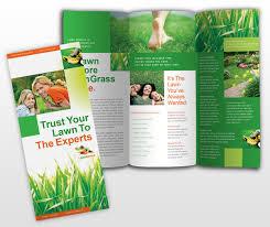 lawn care templates lawn care brochure templates