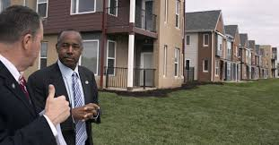 don t make housing for the poor too cozy carson warns the new york times
