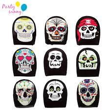 <b>1Pcs Halloween</b> Full Face Masks Horror Pirate Pumpkin Skull ...