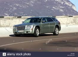Car, Chrysler 300 C Touring 5.7 Hemi AWD, model year 2005-, silver ...