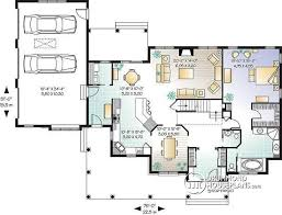 3 Bedroom Open Floor House Plans Ideas Awesome Design