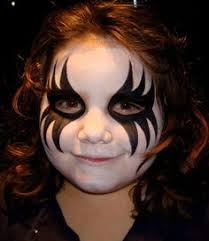 face painting costumes face makeup and skull face paint