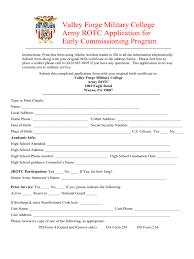 College Application Form Form Vawebs