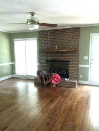 colors that go with red brick painted brick fireplace colors what color paint goes with red
