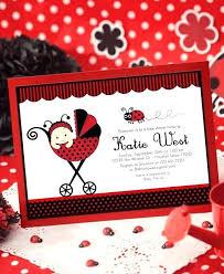 Ladybug Invitations Template Free Ladybug Invitation Template Inspirational Baby Shower Free