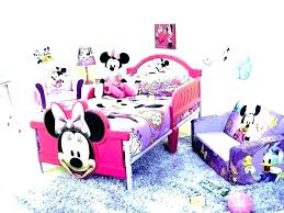 Bedroom Sets ~ Minnie Mouse Bedroom Set For Toddlers 4 Piece Toddler ...
