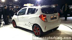 2016 Chevrolet Spark rear quarters at the Seoul Motor Show 2015 ...