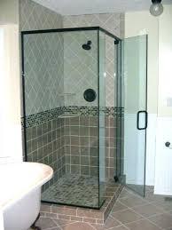 how much is a frameless shower door shower door installation cost shower door replacement cost shower