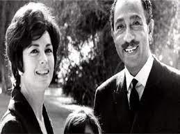 وفاة زوجة انور السادات السيدة جيهان السادات - ثمار برس