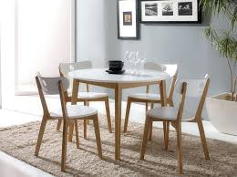 modern round dining table modern white round dining table set for 4 modern dining table set