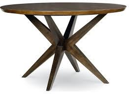 legacy kateri round pedestal table brown