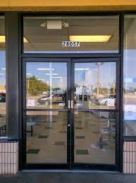 glass storefront door. Aluminum Store Front Doors Over Time Even A Properly Installed Storefront System May Suffer Damage And Glass Door