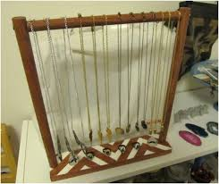 Wooden Necklace Display Stands Keep Your Jewelry Organized With These Lovely 100 DIY Jewelry 62