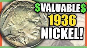 1936 Buffalo Nickel Value Rare Nickels Worth Money To Look For