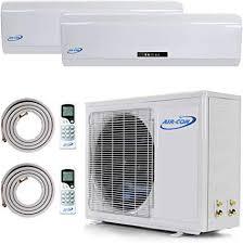 precharged mini split. Fine Split Multi Zone Mini Split Ductless Air Conditioner  Dual 18000  180002  Intended Precharged S