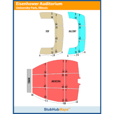 Eisenhower Seating Chart Eisenhower Auditorium Events And Concerts In University Park